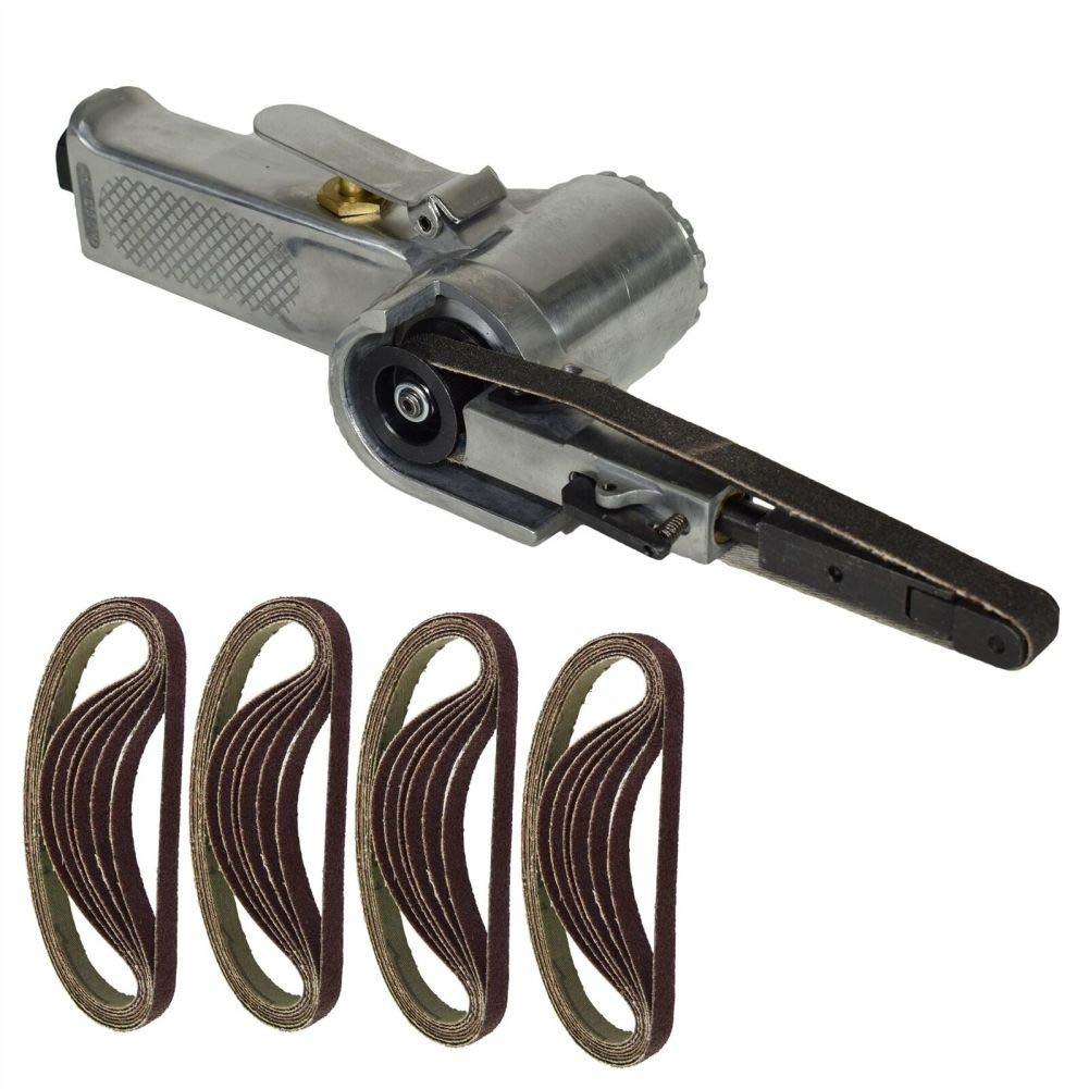 10mm 330 x 10mm Wide Air Finger Belt Sander Power File Detail Sanding + 25 Belt by Tao tao family
