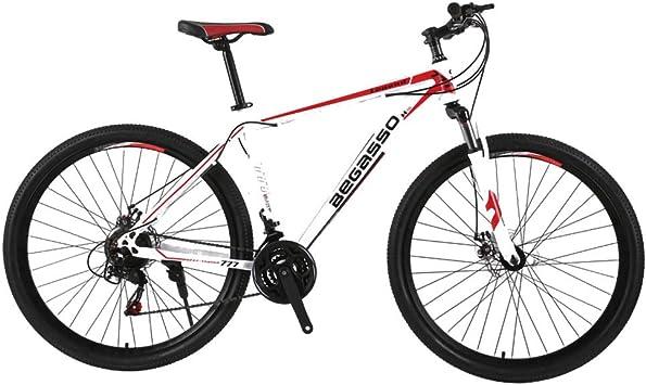 TYSYA Bicicleta Montaña 21 Velocidades Hombre Doble Freno ...