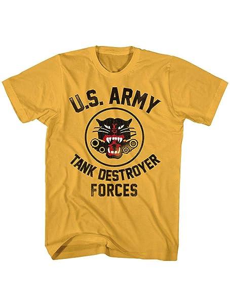 Camiseta militar del ejército de los Estados Unidos para adultos - Naranja - Small: Amazon.es: Ropa y accesorios