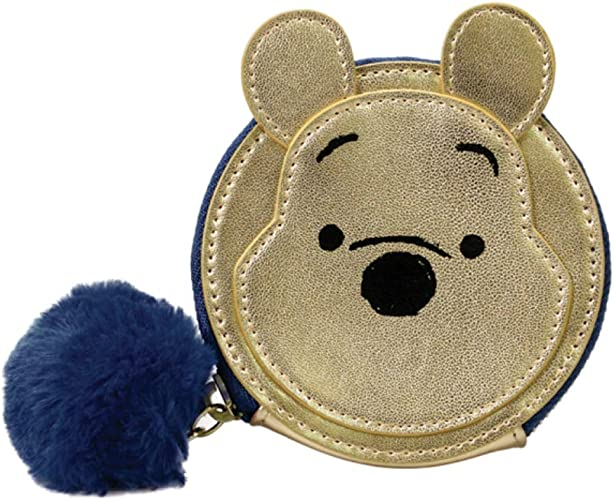 Genuine Disney Winnie The Pooh Zip Coin Purse Pouch