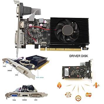 Kisshes HD6450 - Tarjeta gráfica PCI Express (64 bits, 2 GB ...