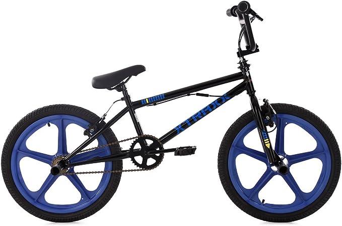 KS Cycling 662b BMX Freestyle Mixta niño, Negro: Amazon.es ...