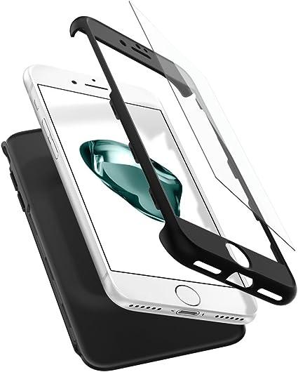 Spigen Funda iPhone 7, [Thin Fit 360] Exact Slim Funda de ...
