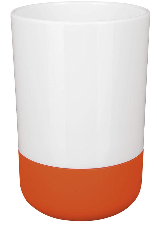 10,17584 Spirella Ragazza Breve per spazzolino Vetro, Arancione 10.17584