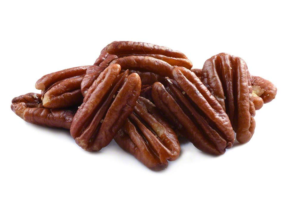 Roasted Pecans Unsalted (1lb Bag)
