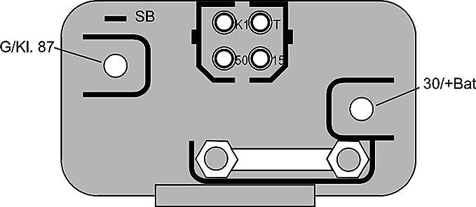 HELLA 4RV 008 188-331 Unidad de control, tiempo de incandescencia: Amazon.es: Coche y moto