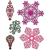 """Heartfelt Creations Arianna Lace 1"""" to 3.5"""" Emboss Dies"""
