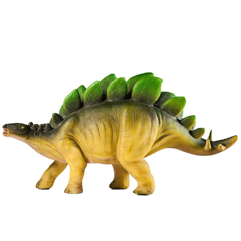 WAIT FLY 14 x 5 x 7 Inches Stegosaurus Shaped Large Size Resin Piggy Bank Coin Bank Money Bank Best Christmas Birthday Gifts for Kids Boys Girls Home Decoration