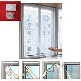 Window Insect Screen Velcro Mesh Net Bug Fly Moth Mosquito Netting Protection Shopmonk