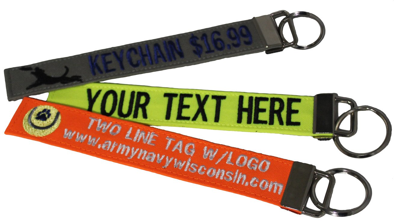 Northern Safari Custom Name Tape Material Luggage and Crate Tags Over 50 Fabrics! Made in The USA. Ships Under 24 Hours!