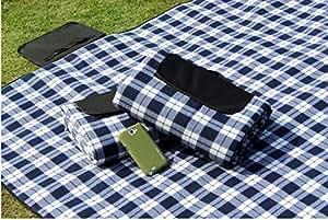 2M * 1.5M resistente al agua plegable fácil de transportar exterior de picnic Beach Camping Baby–Felpudo Climb karierten techo
