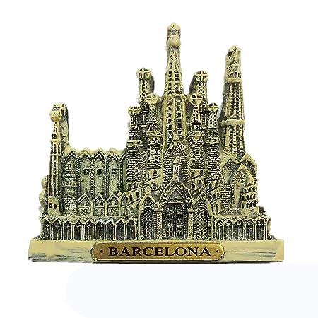 MUYU Magnet Imán para Nevera, diseño de Barcelona España en 3D ...