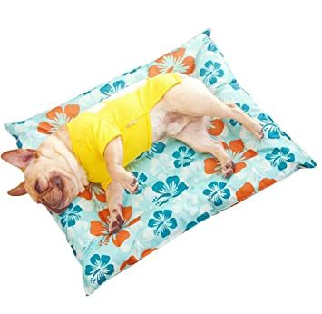 LIDAUTO Pet Pad Summer Cooling Mat Camas para Perros Esteras ...