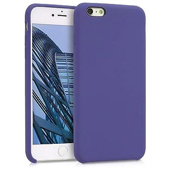 kwmobile Funda para Apple iPhone 6 Plus / 6S Plus - Carcasa de [TPU] para teléfono móvil - Cover [Trasero] en [Lirio]
