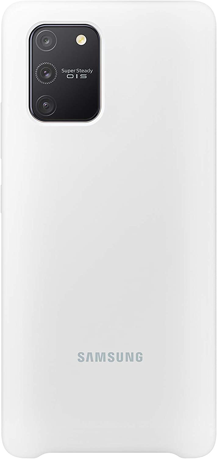Samsung Mobile Accessories Silicone Cover for S10 Lite (R5) (2020) White