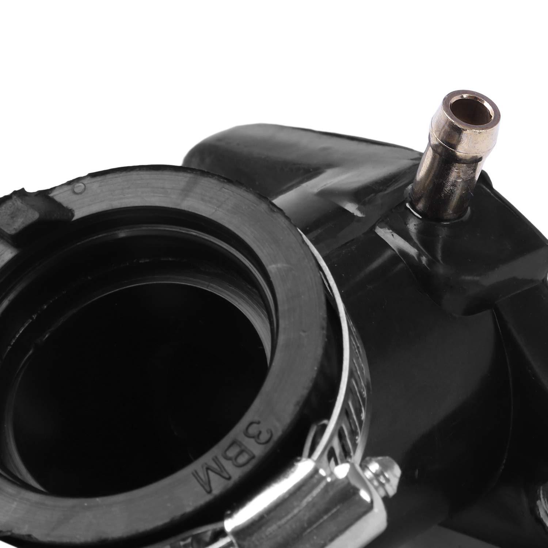 Nrpfell Parti del Motociclo Interfaccia Carburatore per XV 250 XV 250 Virago O-Ring O Ring Carburatore Pad Presa di Uscita Collettore