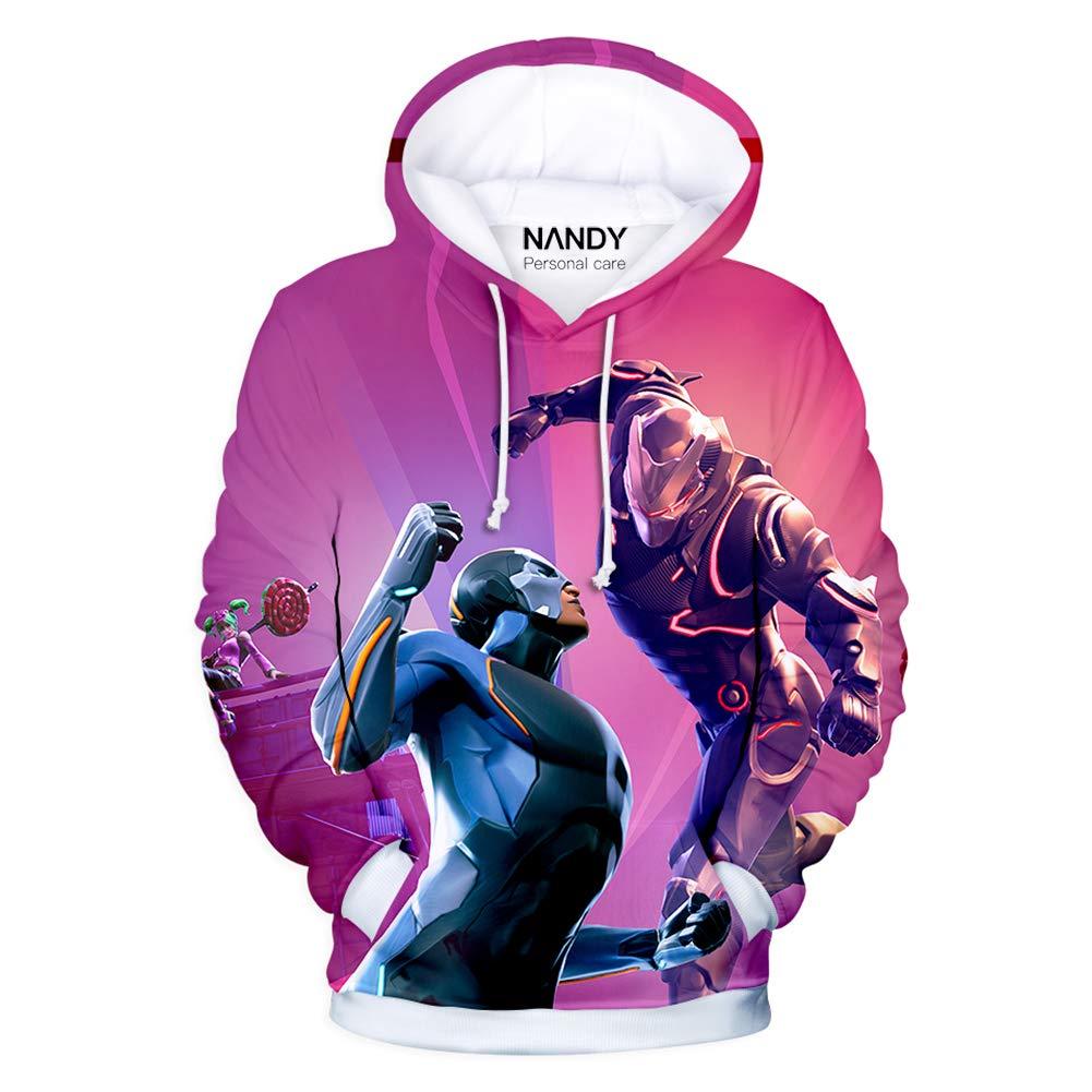 DW.HQ NANDY Personal Care Pull Streetwear Gar/çon avec Pull Imprim/é Bande Dessin/ée 3D