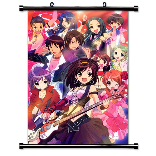 (The Melancholy of Haruhi Suzumiya Anime Fabric Wall Scroll Poster (32 x 45) Inches.[WP]-TMe-27 (L))
