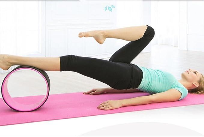 Yoga rodillo rueda varillas Bend artefacto después artefacto ...
