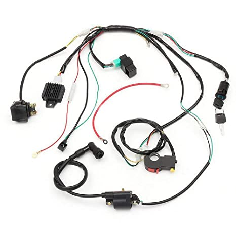 Lifbeier Wire Harness Wiring Loom Cd Ignition Coil Spark Plug