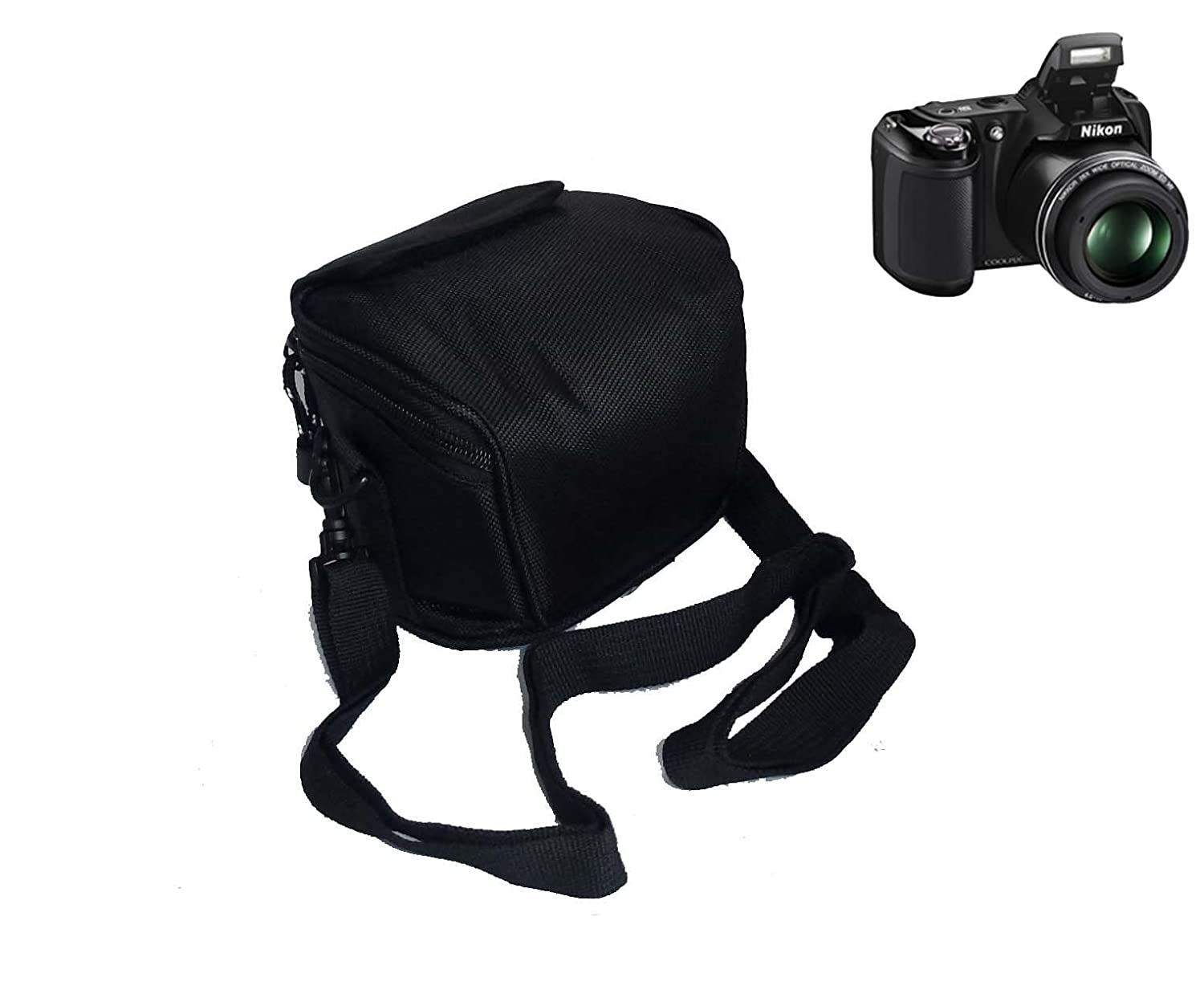 Camera Case Bag for Nikon Coolpix P7800 P7700 P7100 L820 L810 L620 ...