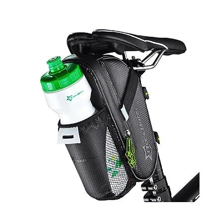 Amazon Com Rockbros Cycling Waterproof Saddle Bag Water Bottle Bag
