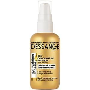Dessange - Nutri-Extrême Richesse Elixir Concentré de Nutrition Soin Sans Rinçage Pour Pointes Et Zones Très Desséchés - 100 ml