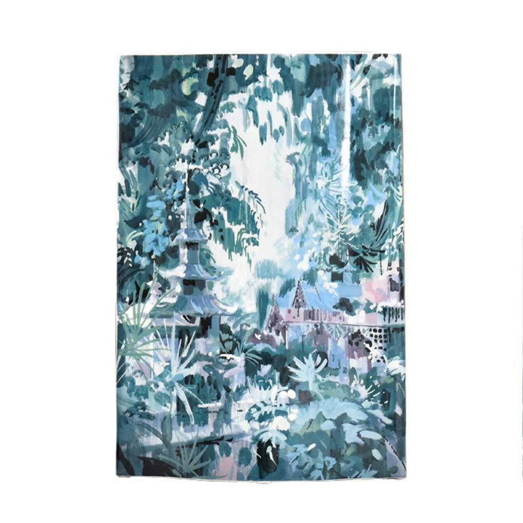 フラワーベース花器 花瓶モダンアメリカンフラワーコンテナドライフラワーセラミック素材クリエイティブリビングルームワインキャビネット装飾品田舎風デザイン (Color : Blue, Size : 24*23cm) B07SCNKLD6 Blue 24*23cm