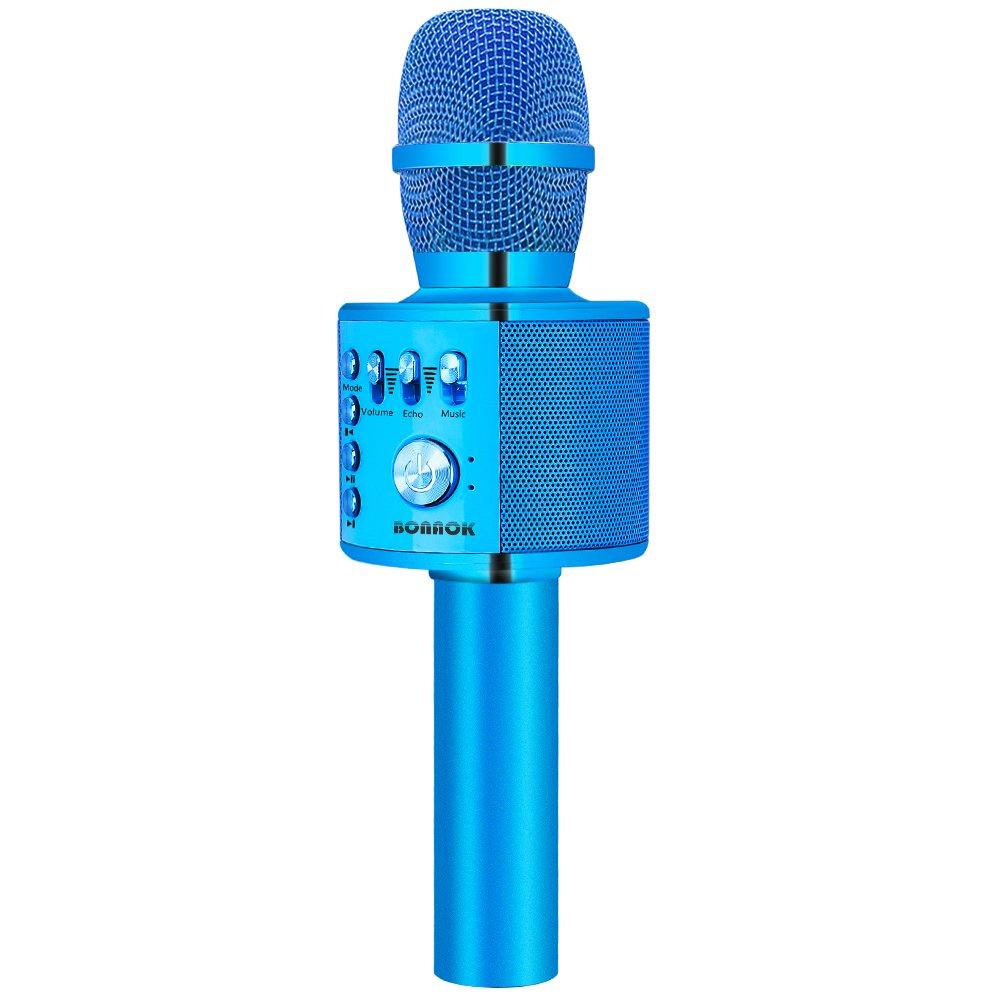 Microfono inalambrico Bluetooth con parlante karaoke (xmp)