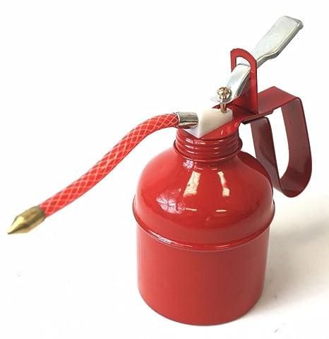 500CC 500ml Squirt Oil Can Flexible Spout Nozzle Pump Action