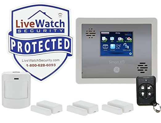 alarm system with interactive wireless service via web and smart phone iphone ipad blackberry or android home security systems camera u0026 photo