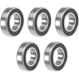 1PCS 6901-2RS 6901RS Deep Groove Rubber Shielded Ball Bearing 12mm*24mm*6mm