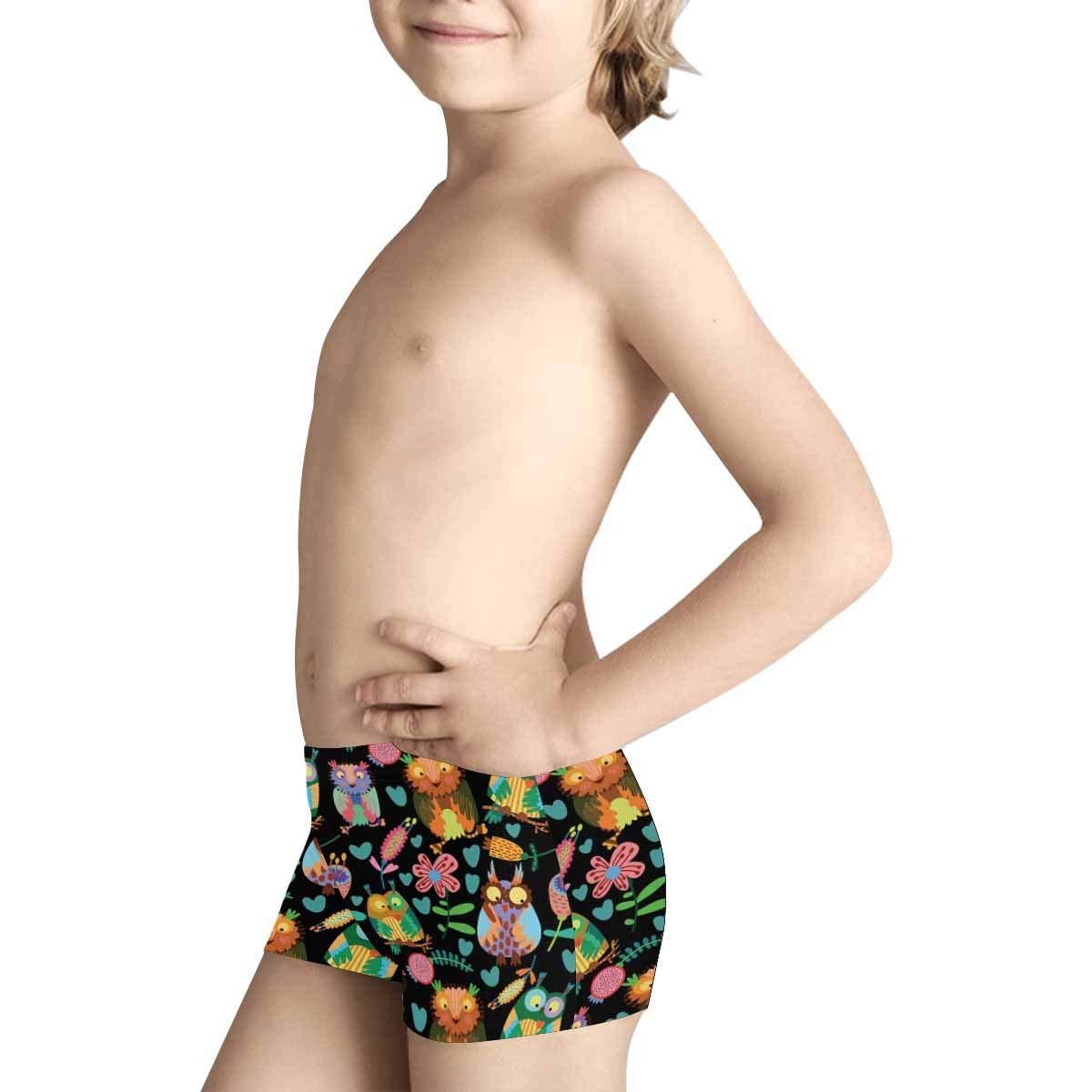 INTERESTPRINT Boys Boxer Brief Underwear