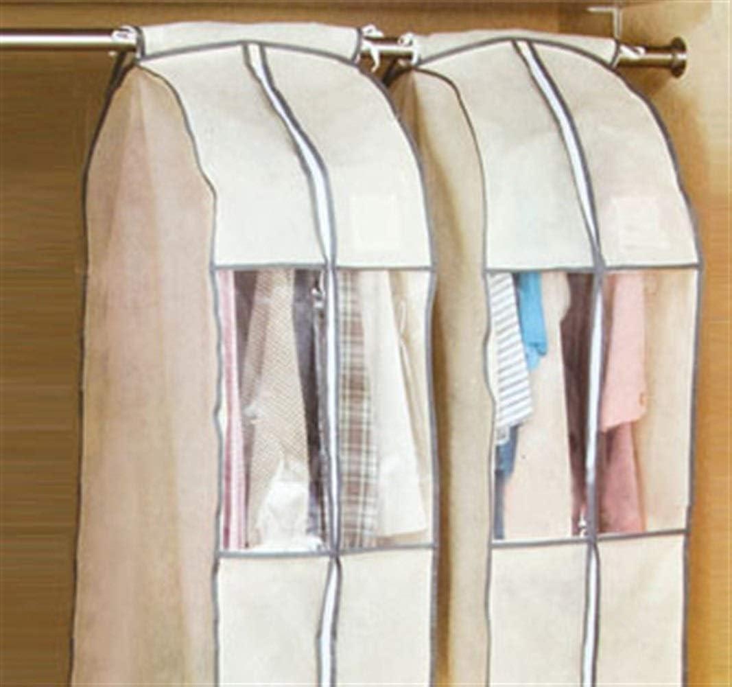 chaqueta Traje Traje protector de la cubierta del bolso de almacenamiento transparentes bolsos de ropa lavable para trajes de vestir Ropa cubierta Estereosc/ópicas de prendas de vestir ropa Cubiertas
