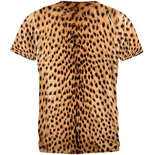 Halloween ...  sc 1 st  Funtober & Halloween Cheetah Costume All Over Adult T-Shirt for Sale - Funtober ...
