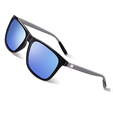 75edeebb78 GQUEEN Polarized Sunglasses with Ultra Light Al-Mg Arm for Mens Women GQ33   Amazon.co.uk  Clothing