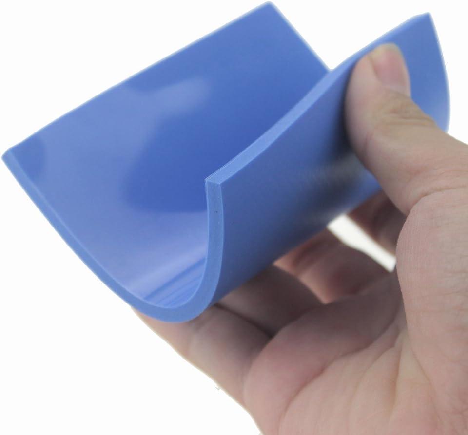 Dfroymalz Blue 1Pcs100X100mm5.0mm Soft Silicone Thermal Conductive Pads Heatsink IC Chipset Northbridge for SSD//CPU//GPU//LED//IC//Raspberry Pi//Chipset Cooling