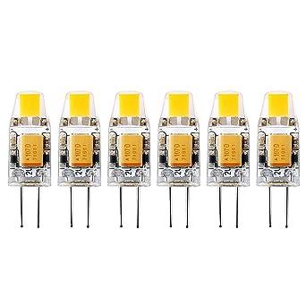Ampoule Led G4 12v 10w.Lot De 6 G4 1w Ampoule Led Capsule Dc 12v 10w Halogene Equivalent
