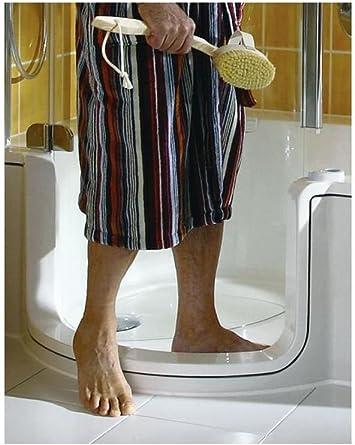 Artweger Twin Line combinado bañera bañera con puerta y ducha 170 cm Mampara de plata mate Delantal Cristal Claro: Amazon.es: Bricolaje y herramientas