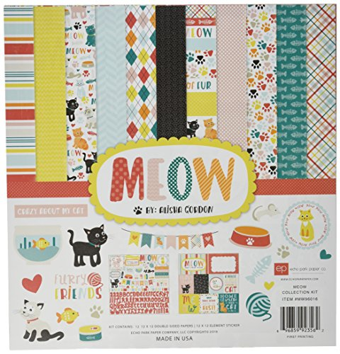 Cat Kitty Scrapbooking - Echo Park Paper Company MW96016 Scrapbooking Kit