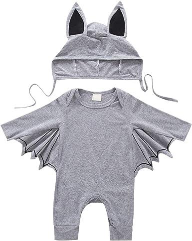De feuilles Toddle - Mono de Manga Larga para bebé con Sombrero de ...