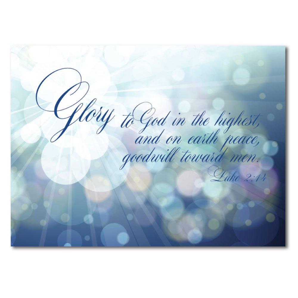 Amazon Christian Christmas Greeting Card H1609 A Christmas