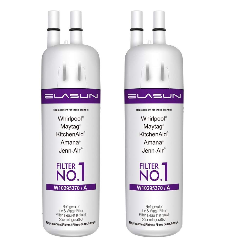 ELASUN White Kenmore 469081469930 Refrigerator Water Filter Fit Kenmore 9081 9930 (2 Pack)