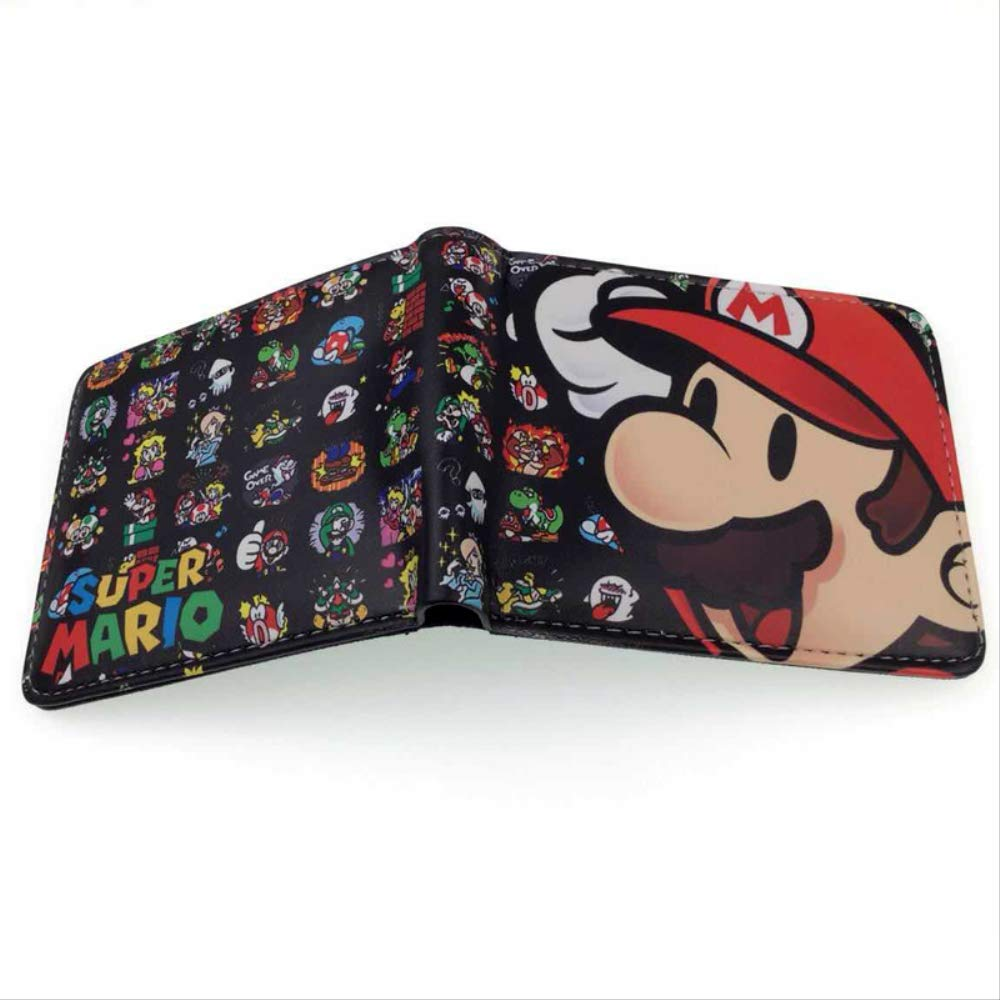 Cartera de cómic de Super Mario con Monedero S-04: Amazon.es ...