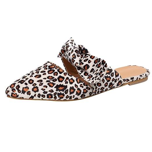 87b52a5da7fa7 Amazon.com: 2019 Hot Womens Pointed Toe Flat Slippers Comfort Slip ...