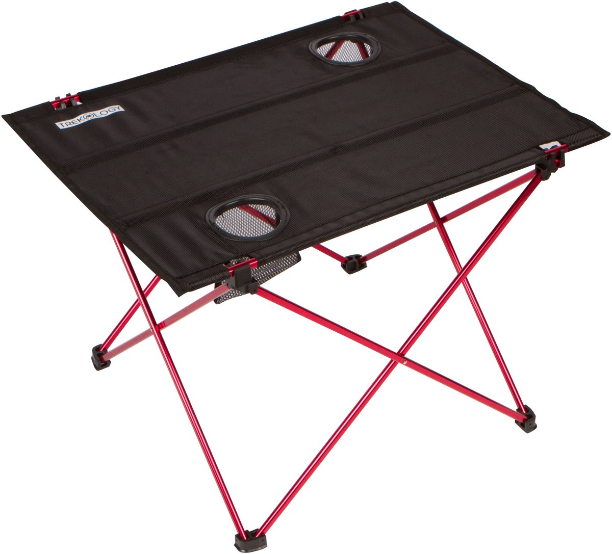 Trekology Foldable Camping Picnic Tables - Portable Compact Lightweight Folding Roll-up Table in a Bag - Small, Light Easy to Carry Camp, Beach, Outdoor by Trekology