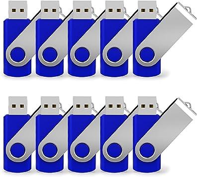 Lot 10 16GB USB 2.0 Flash Drive 16G Thumb Pen Key Stick Jump Memory Bulk Pack