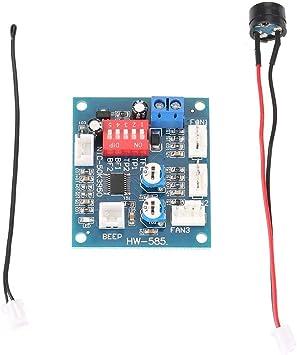 DC12 V 4 alambre termostato PWM ventilador controlador de ...