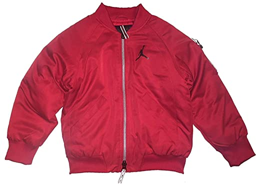 3860568d24fe Amazon.com  Nike Jordan Jumpman Boys Grade School Bomber Jacket (M ...