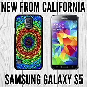 Psychedelic Trippy Hypnoisis Custom made Case/Cover/skin FOR Samsung Galaxy S5 - Black - Plastic Snap Case
